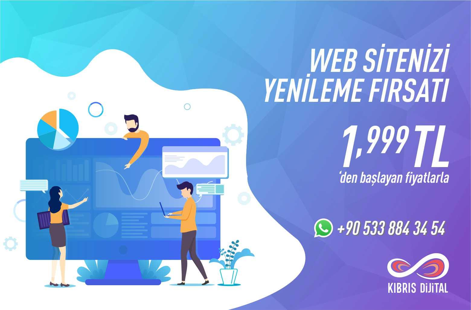KKTC İnternet Sitesi Fiyatları